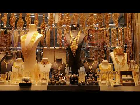 Gold Shopping in Dubai! World's Largest Gold Market