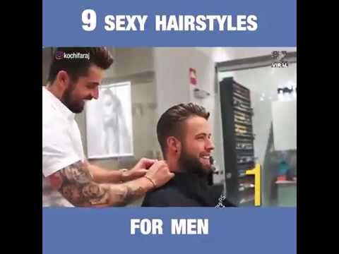 9 Sexy hairstyles For men.