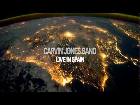 "CARVIN JONES BAND Teaser DVD ""Live in Spain"" @pasioneventos"