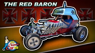 Life Size Hot Wheels Cars | Fireball 500 & Red Baron