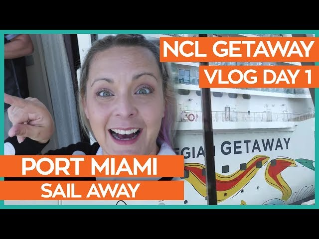Norwegian Getaway | Boarding the Ship & Haven Cabin Tour | Norwegian Cruise Line Day 01