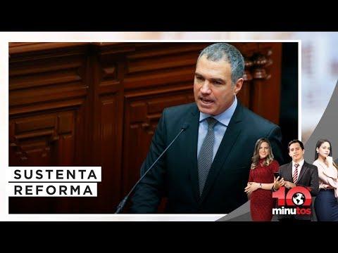 Del Solar se presenta en Constitución por reforma política  - 10 minutos Edición Tarde
