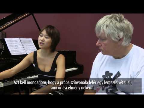 Yuja Wang Bartók II. zongoraversenyét próbálja Kocsis Zoltánnal