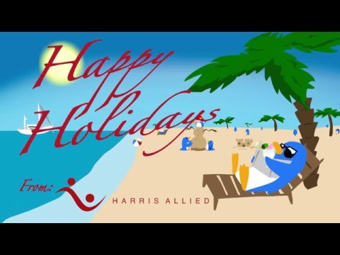 Harris Allied Holiday Card 2015