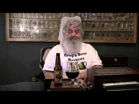 Beer Review # 1212 Old Dominion Brewing Morning Glory Imperial Stout