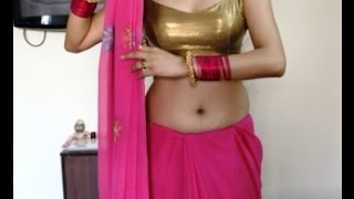 How To Wear Mermaid Style Saree:Stylist Mermaid Draping SAREE *