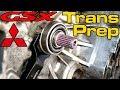 Eclipse GSX Transmission Install Prep! - AWD DSM Trans Maintenance & Tips