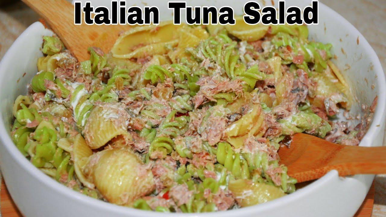 Download Italian Tuna Pasta Salad Recipe|  How to Make Tuna Pasta Salad| BEST TUNA PASTA SALAD RECIPE #pasata