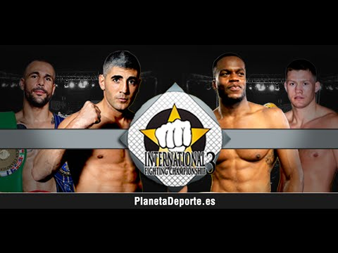 Elvis Guillen vs Sergio Blanco en DIRECTO en el International Fighting Championship 3