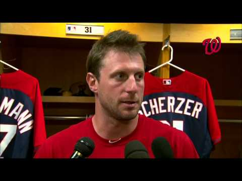 Max Scherzer talks about his outing in the Nats' 7-5 loss