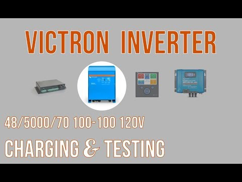 Victron Quattro: Testing with our Air Conditioner
