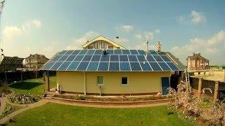 Завершен монтаж 30 кВт солнечной станции в Киеве!