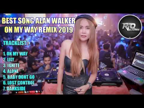 DJ ON MY WAY VS LILY ALAN WALKER BREAKBEAT REMIX TERBARU 2019