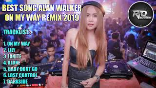 Gambar cover DJ ON MY WAY VS LILY ALAN WALKER BREAKBEAT REMIX TERBARU 2019