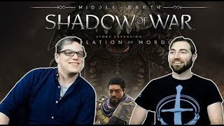 How Death works, Talion in Lithlad, and a New Difficulty: Desolation of Mordor DLC