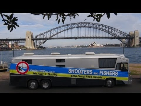 Shooters And Fishers Party 2013 Federal Election Campaign Tour .
