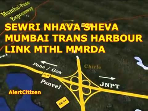 Sewri Nhava Sheva Mumbai Trans Harbour Link MTHL MMRDA India's 22 kms Longest Sea Bridge