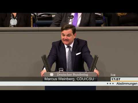 17:55 Marcus Weinberg CDU/CSU 8/11
