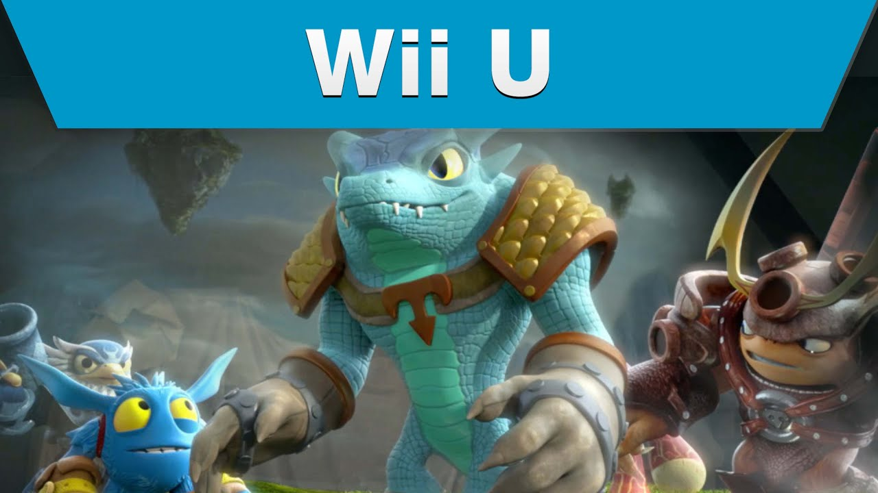 Wii U Game Trailer : Wii u skylanders trap team trailer youtube