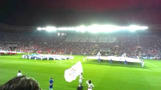 UEFA SUPERCUP PRAGUE2013 Chelsea-Bayern CEREMONY