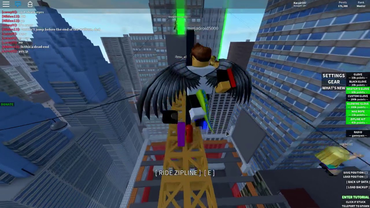 How Use Glove Witch Line In Roblox Parkour - Youtube-1613