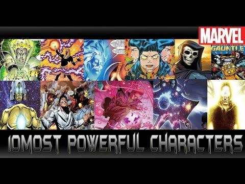 [10อันดับตัวละครเทพสุดของมาเวล][Top ten most powerful marvel characters]comic world daily
