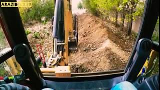 Caterpillar 432F2 Bekoloder Kulanan Ümit Ustamız Kanalizasyon Hattı Döşemesi Yapıyor