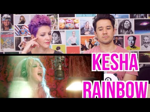 KESHA - Rainbow - Music Video - REACTION!!