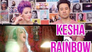 KESHA - Rainbow - Music Video - REACTION!!