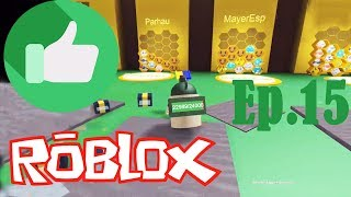 RIDING A GREAT PANAL AVEC MAYERESP! - LE MEILLEUR ROBLOX EP.15 GAMES: BEE SWARM