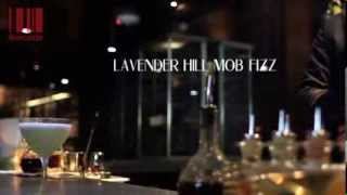 Barcode - Lavender Hill Mob Fizz (Megaro Bar Kings Cross)