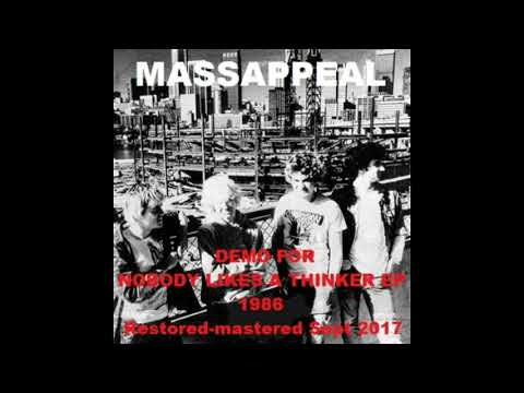 Massappeal (Aus) Demo for NOBODY LIKES A THINKER EP. 1986 (remastered)