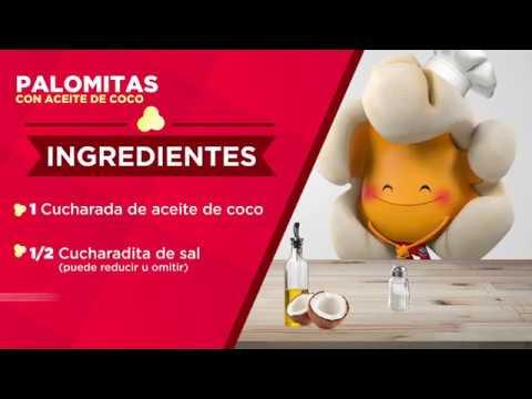 Palomitas con Aceite de Coco - Recetario de Palomino