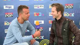 Interview with Chesney Hawkes at Let's Rock The Moor! 2016