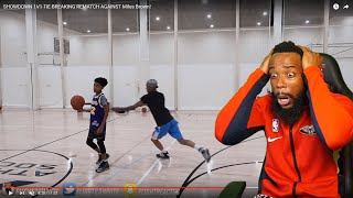 FLIGHT TRIES TO STEAL THE BALL FROM 13 OLD MILES BROWN! I'M CRYING LAUGHING!