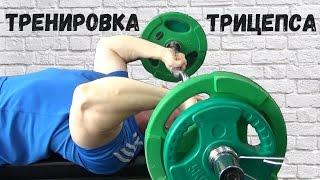 видео упражнение на трицепс