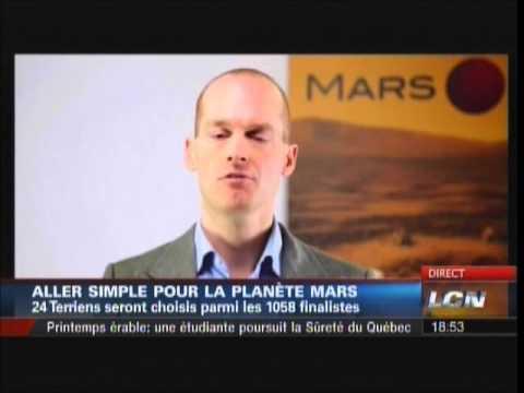 Allez simple pour la planète Mars - Mars One