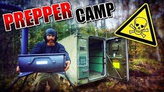 OFEN für den Container - Prepper Camp #003 | Fritz Meinecke