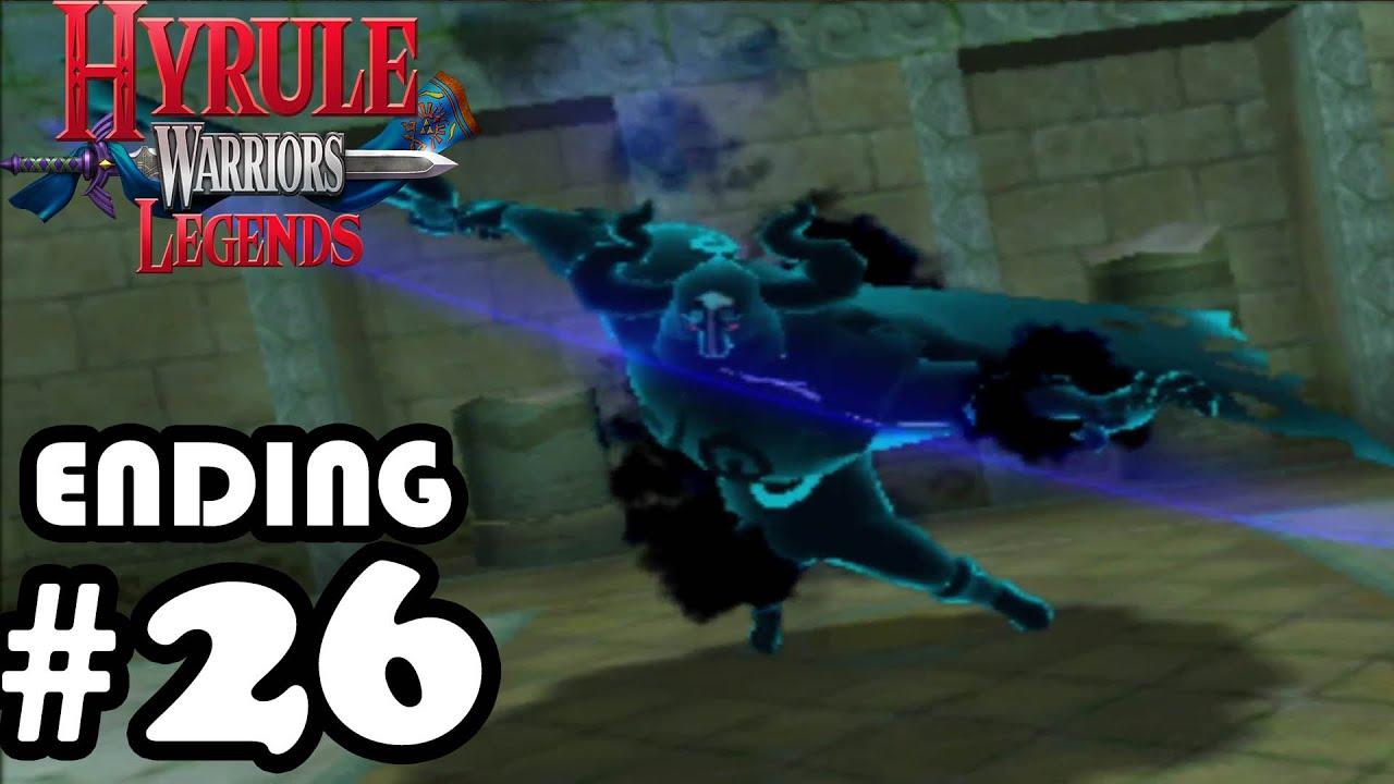 Hyrule Warriors Legends Ending Boss Credits Gameplay Walkthrough Part 26 3ds Youtube