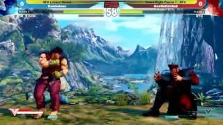 Down Right Fierce 7: SFV Losers Semi Finals-  Kombokaze vs Ace Unlimited