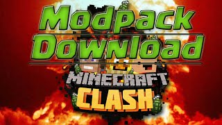 MINECRAFT CLASH MODPACK DOWNLOAD + INSTALLATION [German]