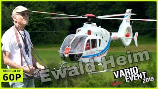EWALD HEIM HIMSELF WITH HIS BEAUTIFUL XXL VARIO EC135 - VARIO EVENT 2019