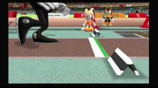 Mario and Sonic at the Olympic Games Athletics: Long Jump