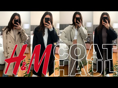 COATS YOU NEED FROM H&M UNDER $200