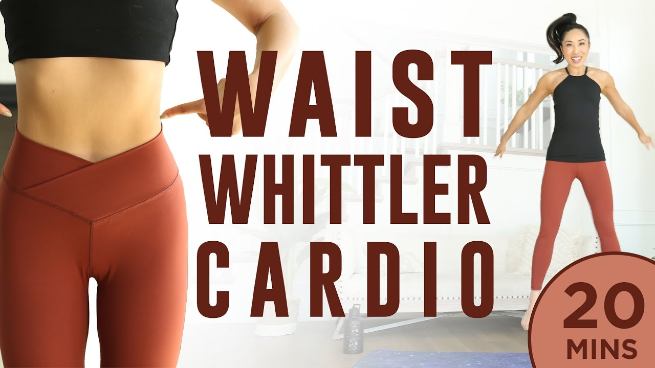 Download 20 minute Waist Whittler Cardio Pilates Workout   7 Day Ab Challenge (do this video every day)