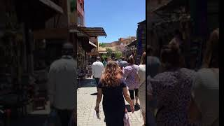 The Souks in Marrakech, Morocco