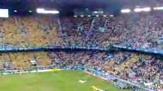 Россия-Швеция ГИМН на стадионе