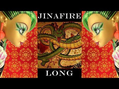 Monster High Jinafire Long (new scaremester) review. Обзор куклы Джинафаер Лонг.