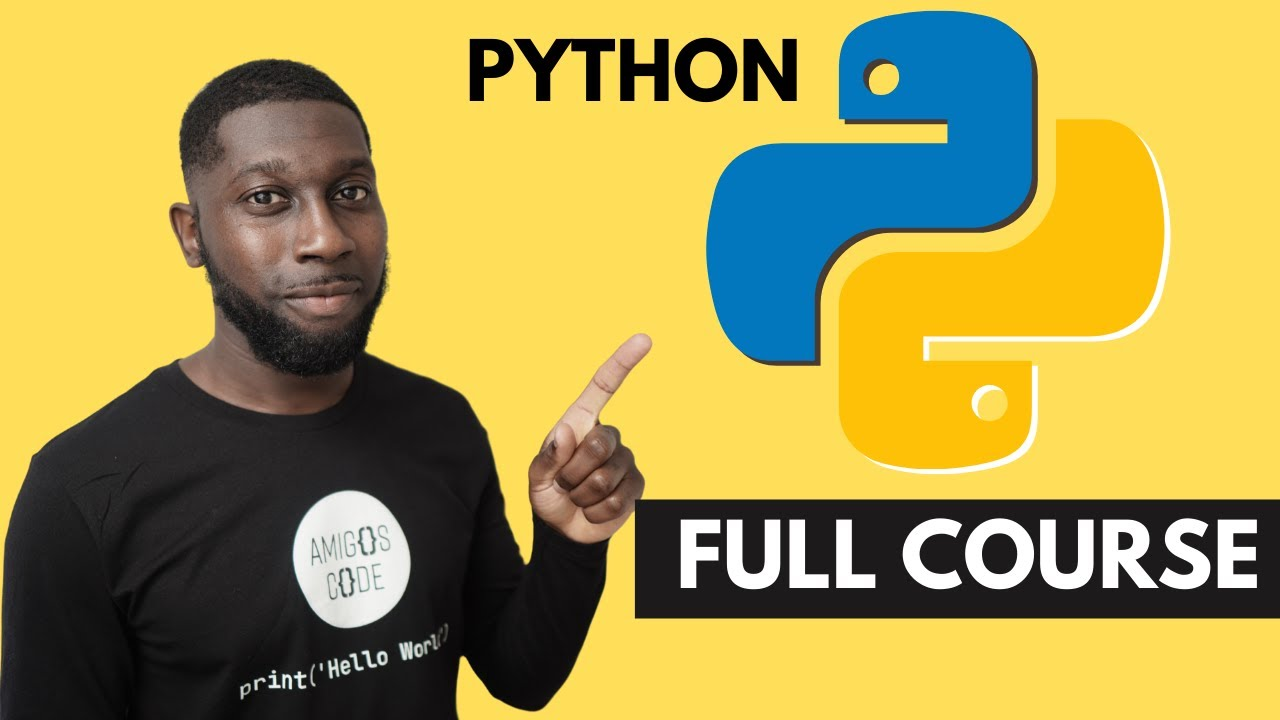 Learn Python For Beginners | Full Course [2020]