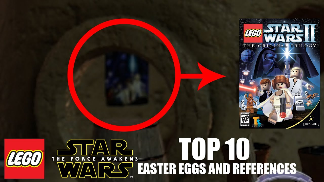 LEGO Star Wars: The Force Awakens - TOP 10 EASTER EGGS AND ...